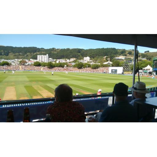 Wellington Collegians Marquee - Black Caps v West Indies (Sunday 3rd December)